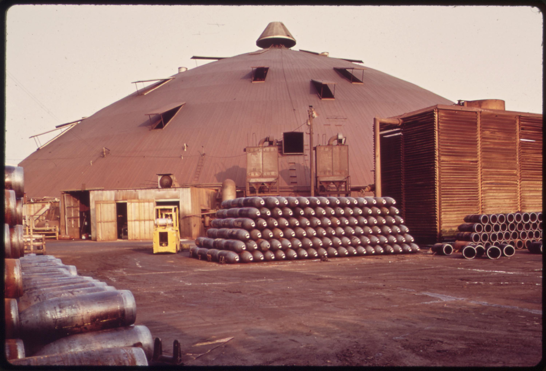Le Tourneau Ammunition Plant, 1972