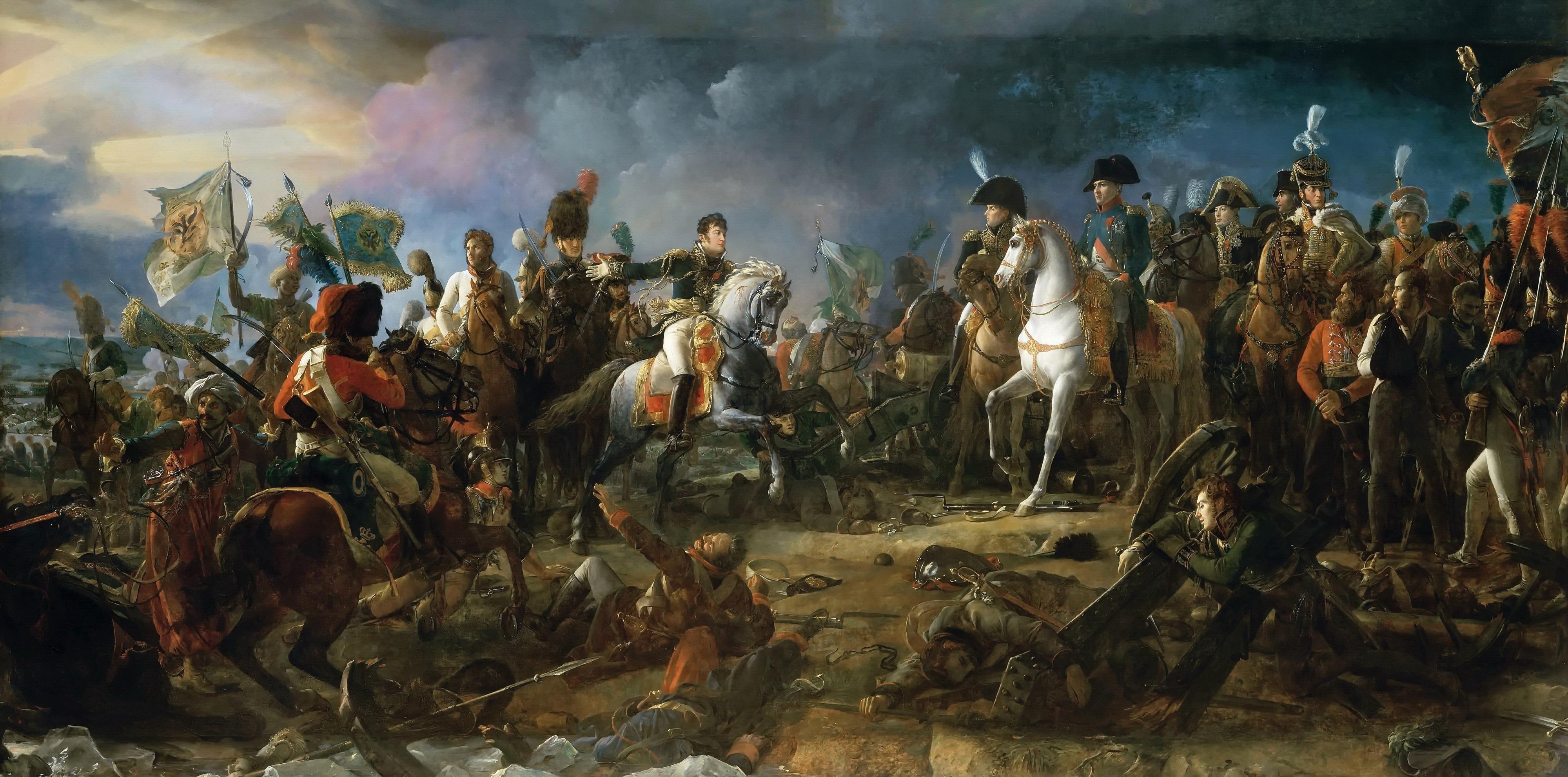 Depiction of Batalla de Austerlitz