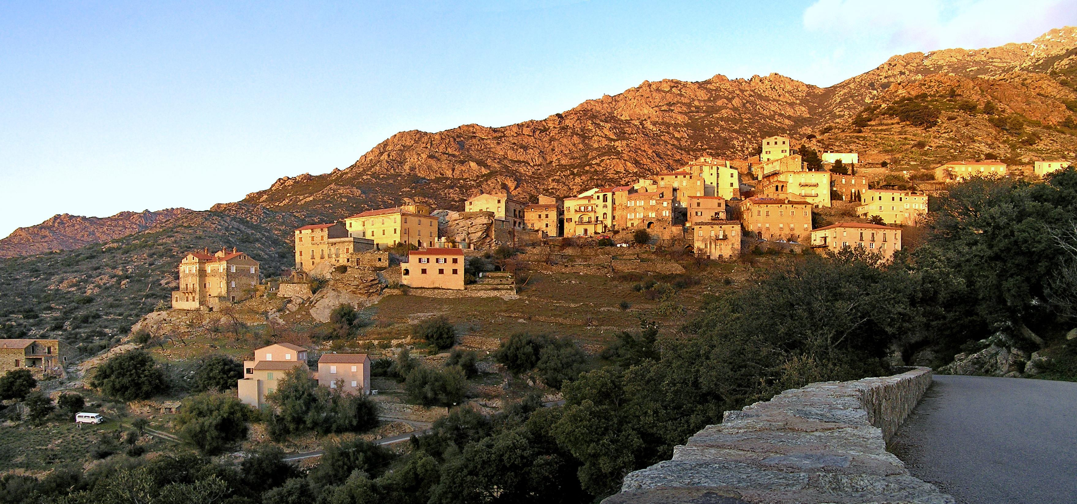 Carte Corse Urtaca.Lama Haute Corse Wikipedia