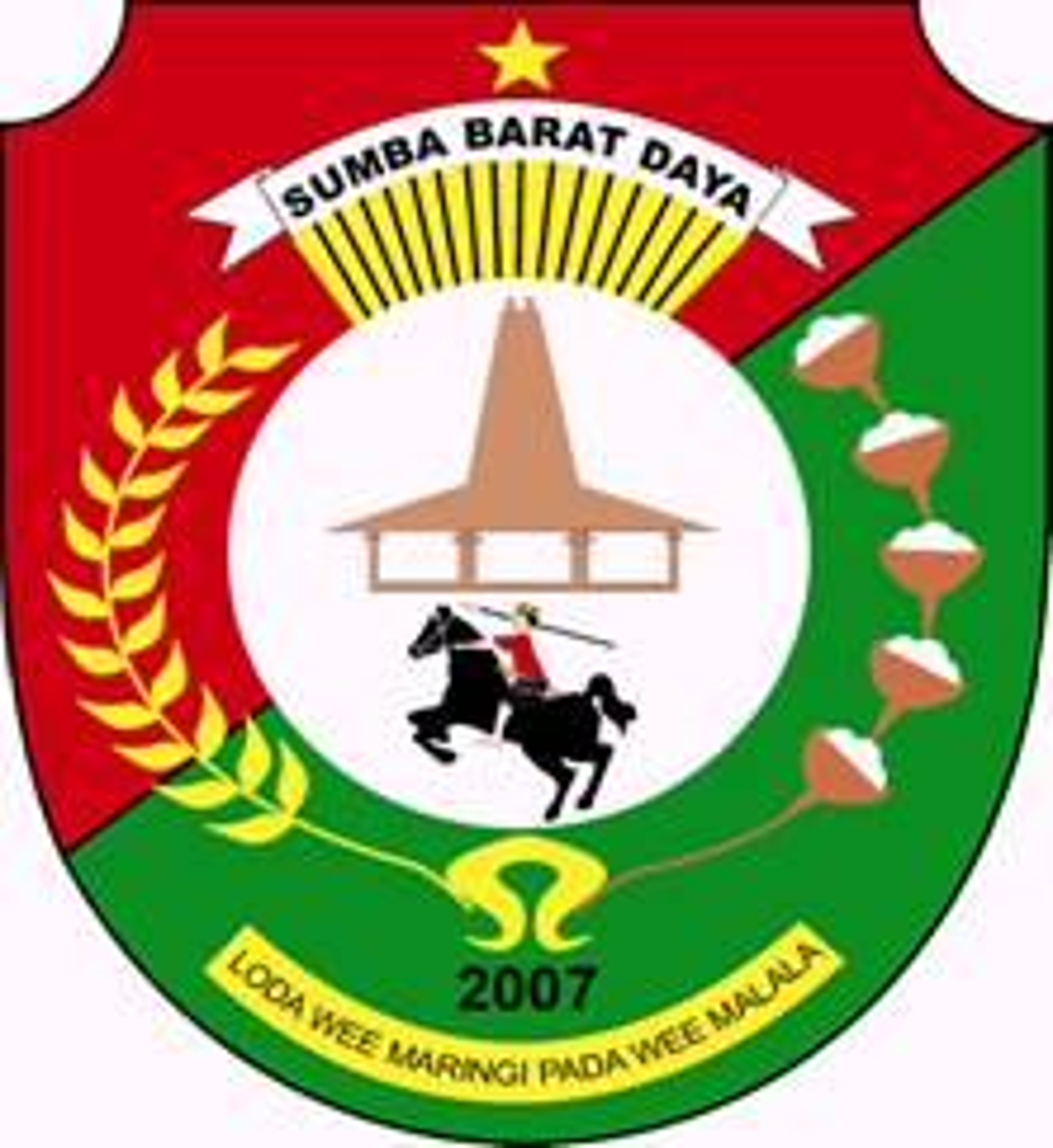 lambang / logo kabupaten Sumba Barat