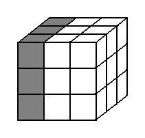 Left layer of a Rubik's Cube.jpg