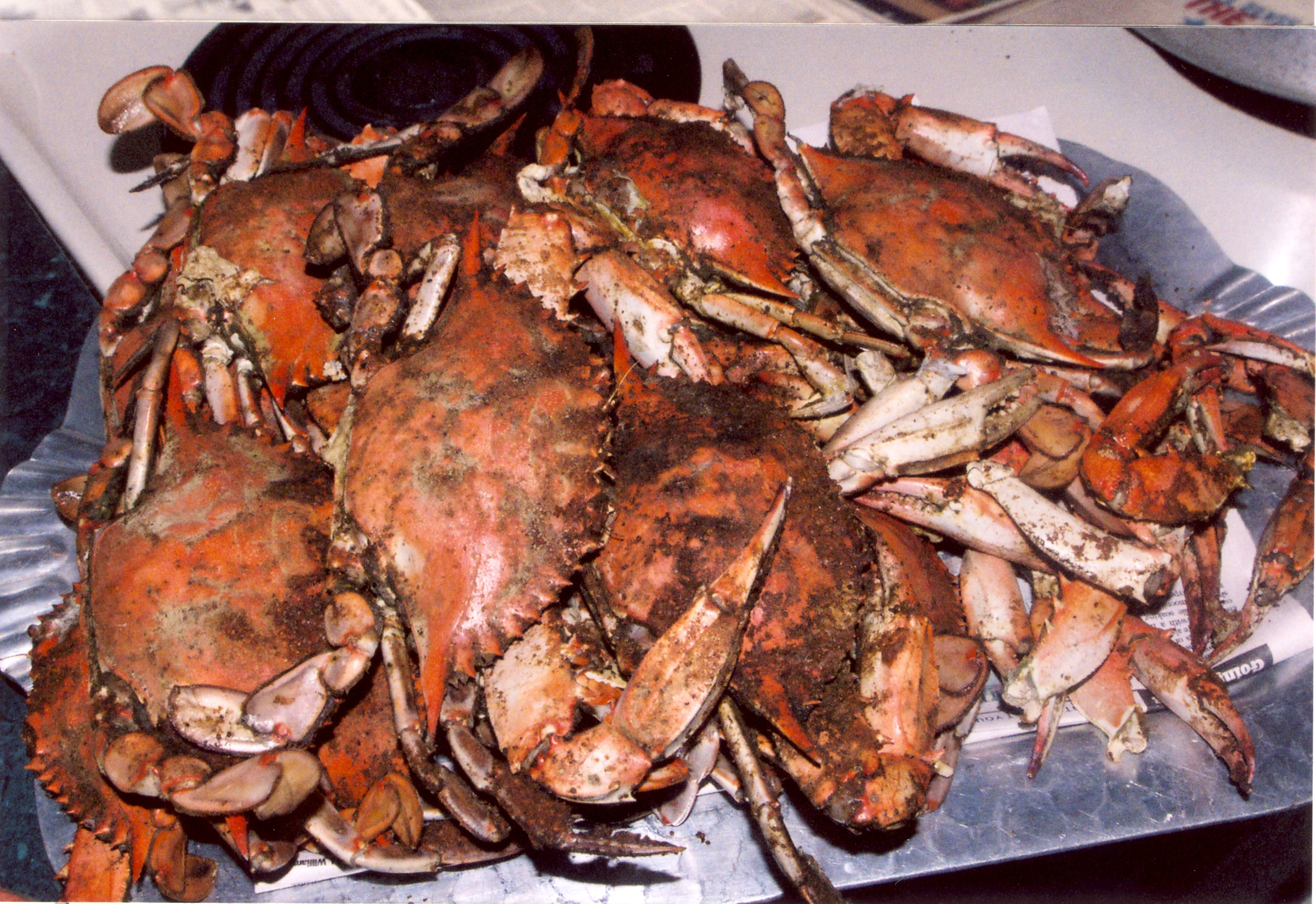 Maryland Bed and Breakfast Crab Feast