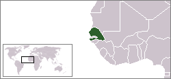 LocationSenegal