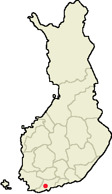 Location of Lohja in Finland.png