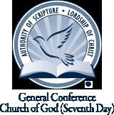 Logo de la Conferencia General de la Iglesia de Dios (Séptimo Día) con sede en Denver, CO.png