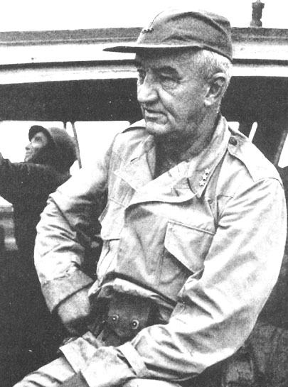 Robert L. Eichelberger recorded his troops' suppression of the Japanese vigilante guard. LtG RL Eichelberger.jpg