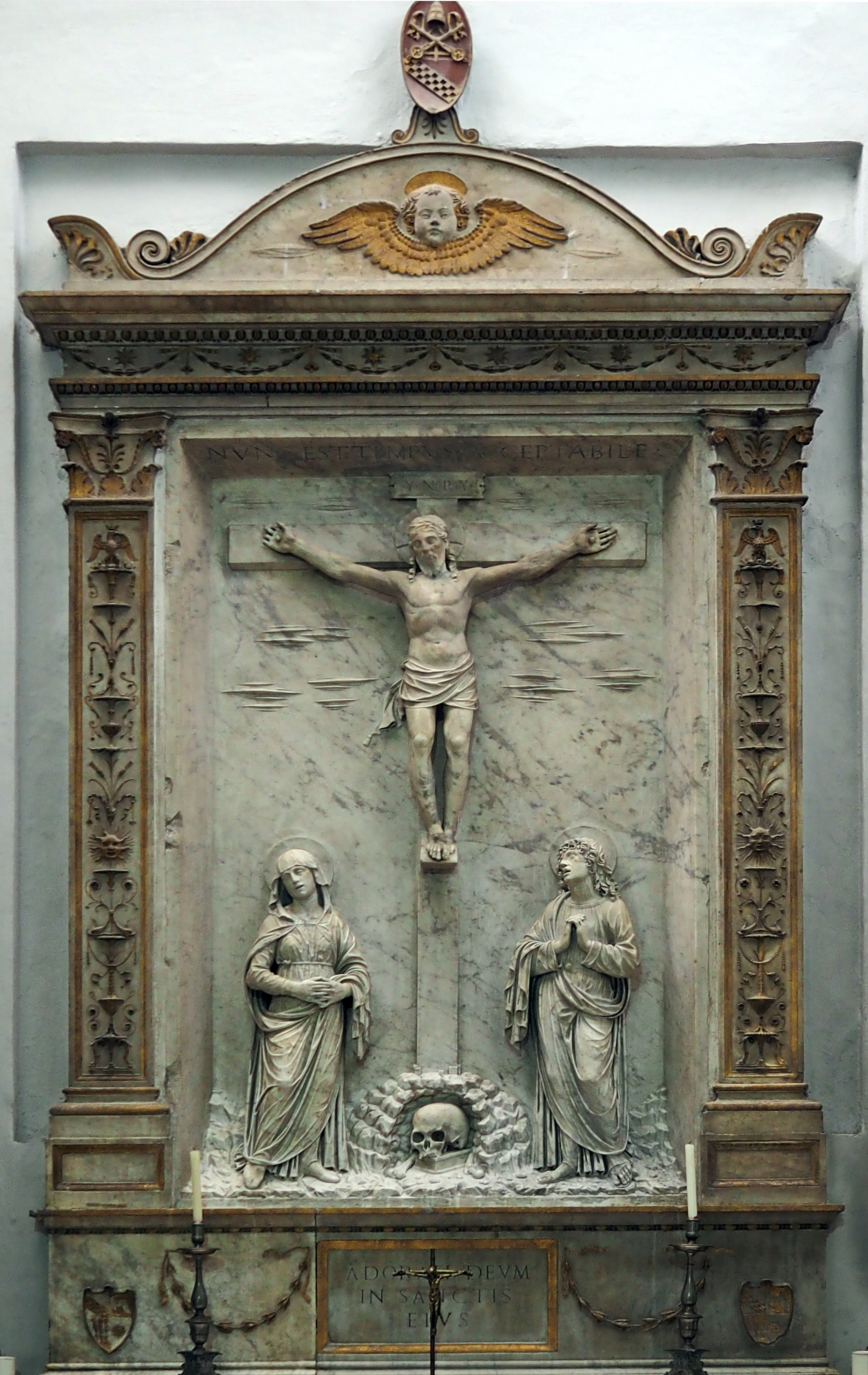 Fileluigi Capponi Kreuzigung Santa Maria Della Consolazione