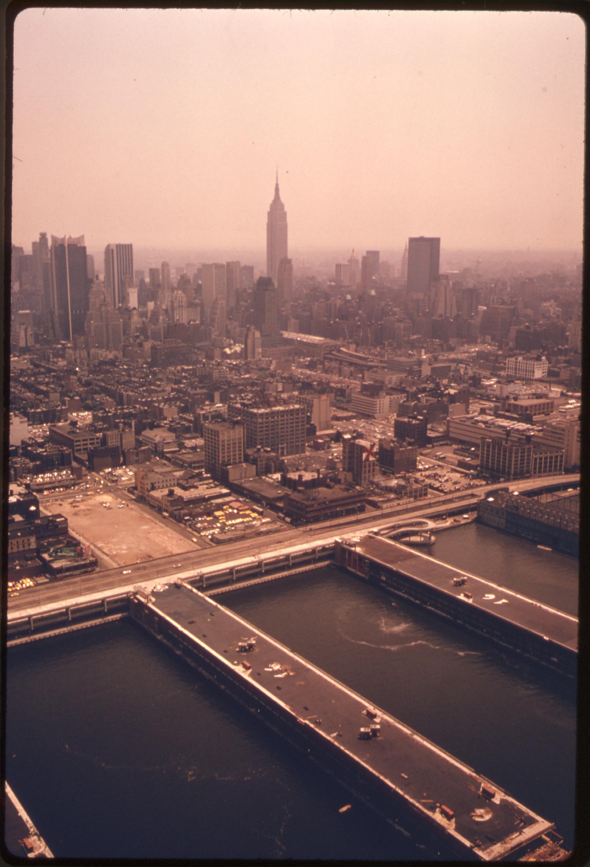 New York City Piers History