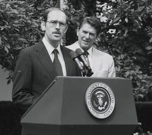 M. Peter McPherson American political advisor