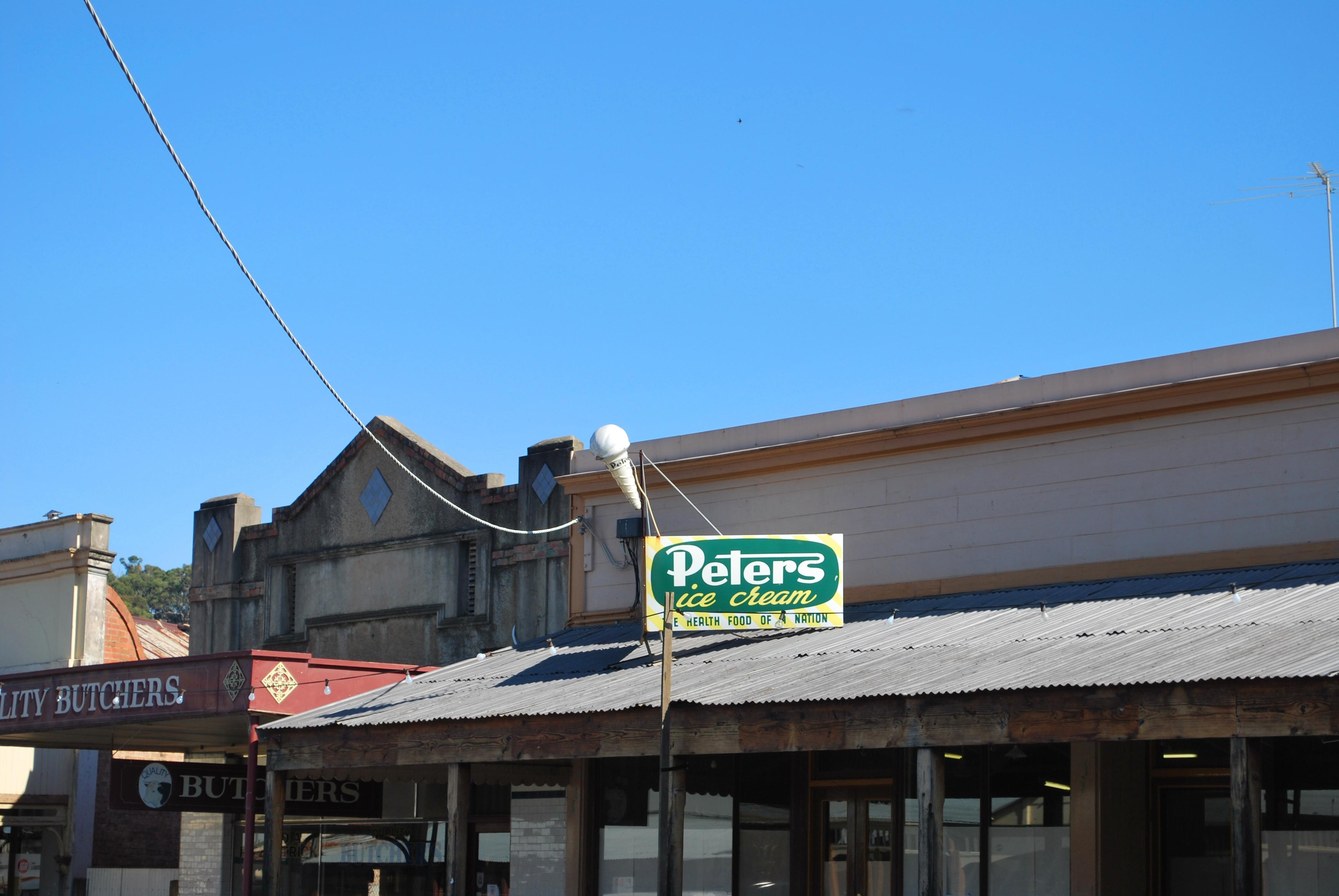 peters ice cream factory grafton - photo#24