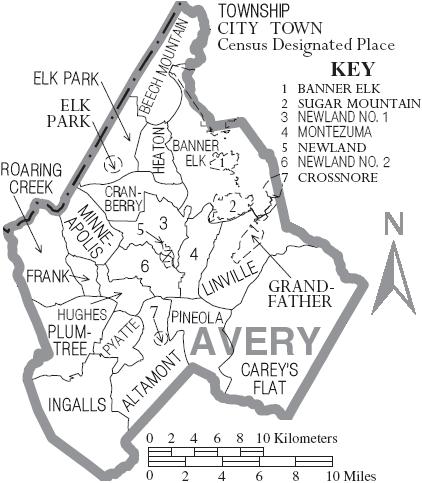 Avery County, North Carolina - Wikipedia, the free encyclopediaavery county
