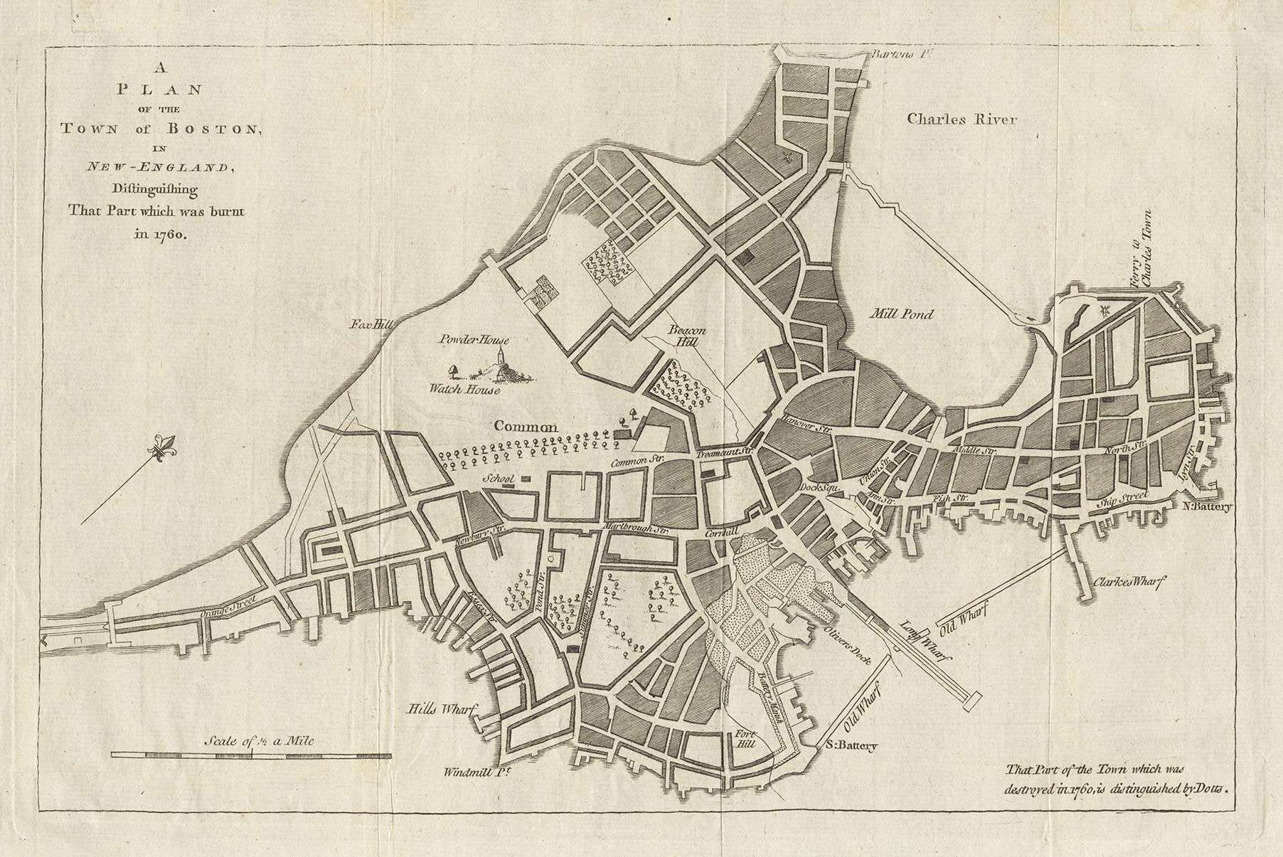 Great Boston fire of 1760