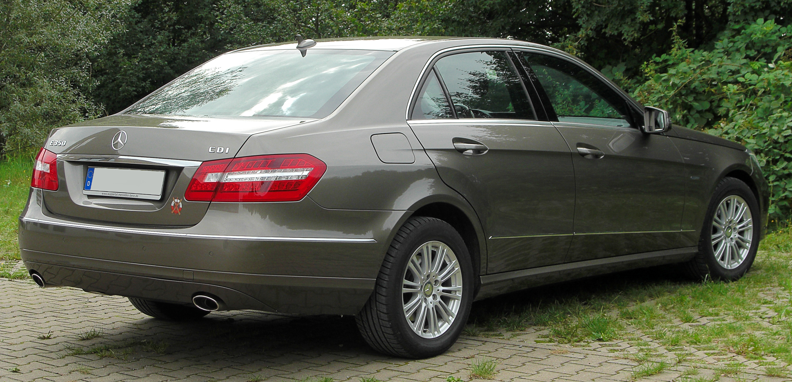 Dateimercedes E 350 Cdi Blueefficiency Elegance W212 Rear 1