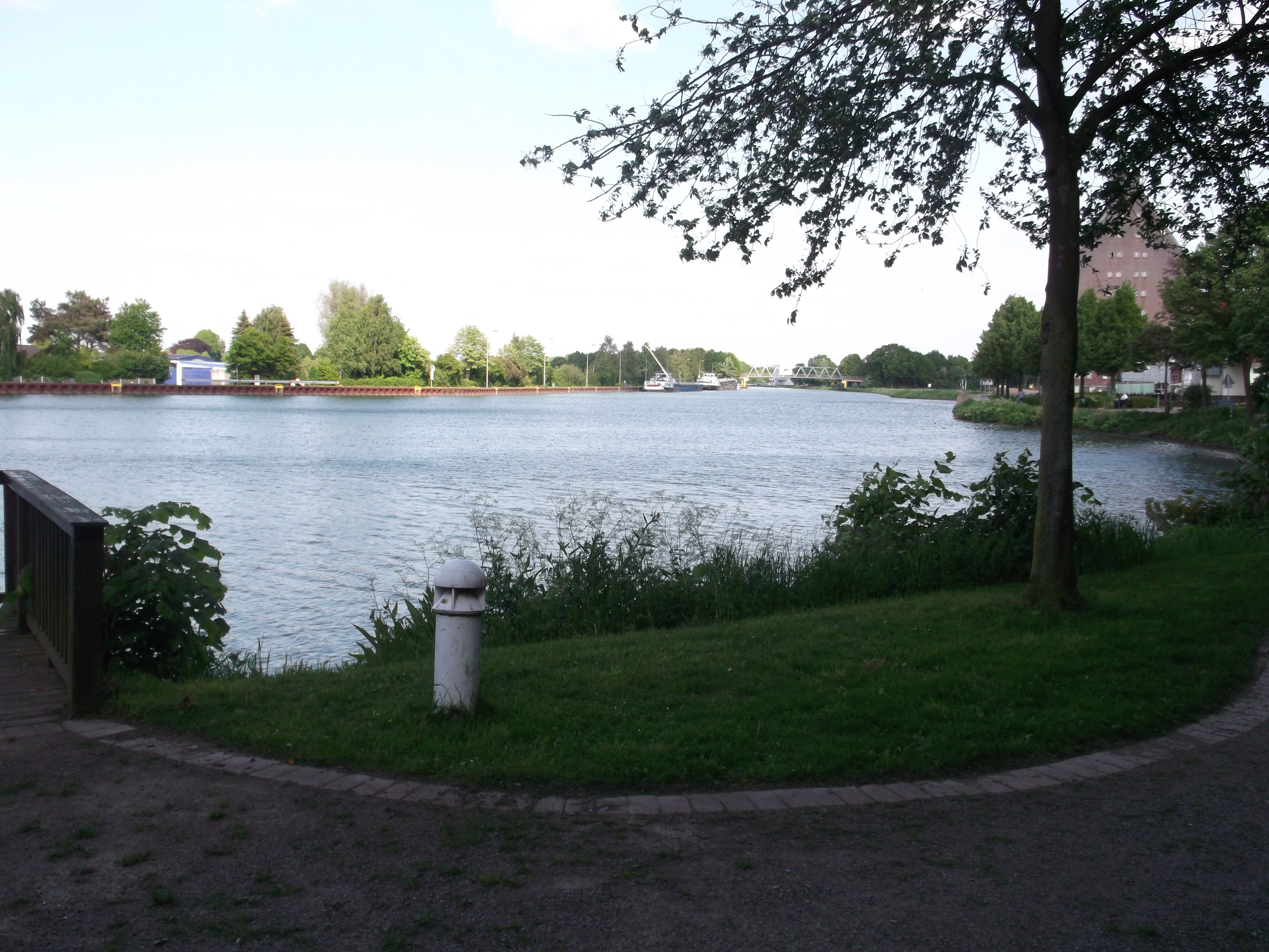 Mittellandkanal bei Bad Essen - Quelle: WikiCommons
