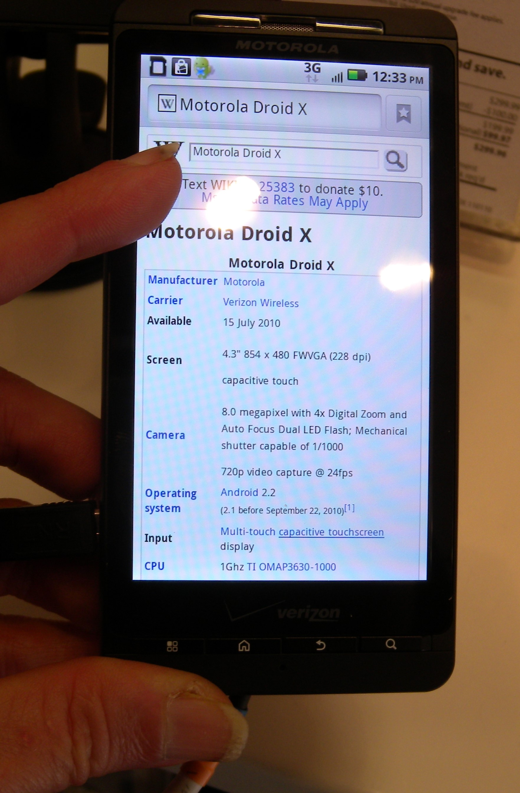 Image result for Steps for Updating Motorola Droid Pro with Official Gingerbread 2.3.4.7.3.XT610