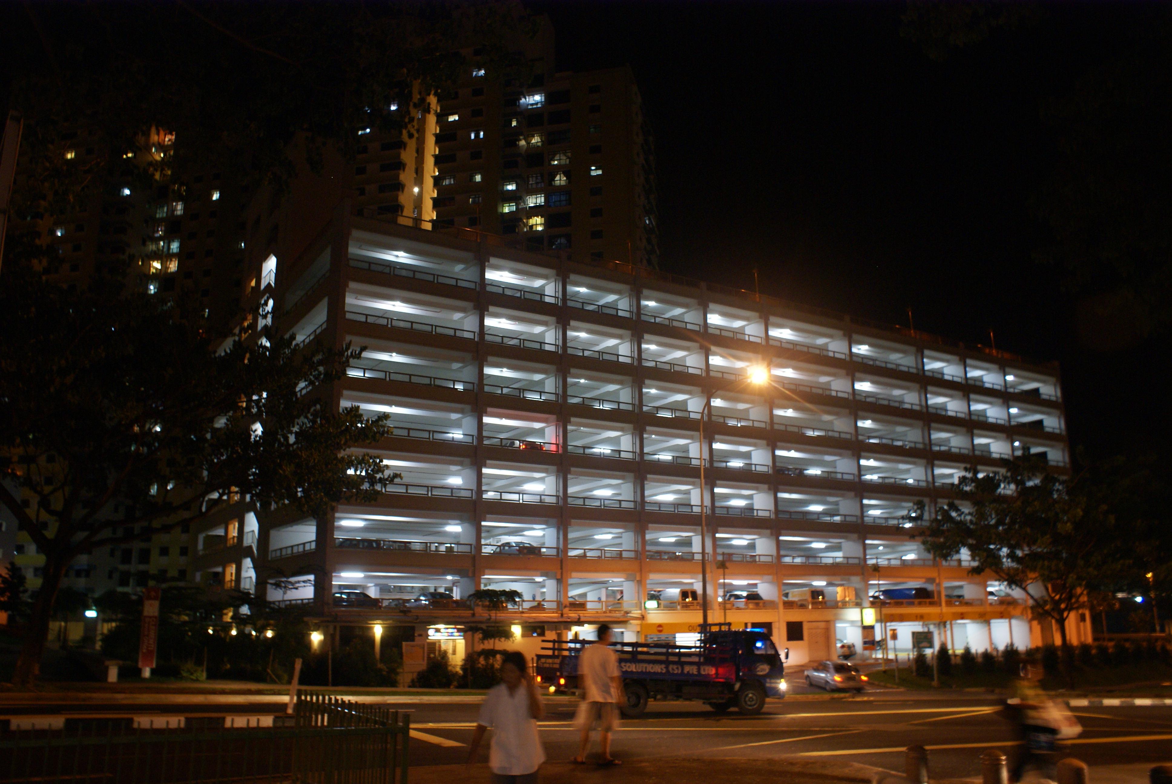 filemultistorey car park in clementi singapore at