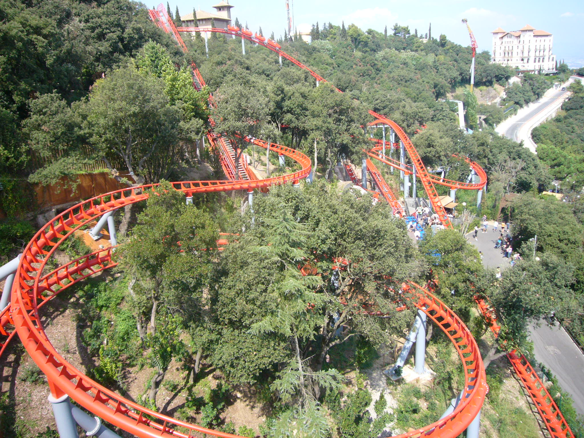 Muntanya Russa Tibidabo Amusement Park Wikipedia