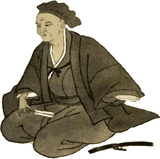 Founder of the Japanese tea ceremony