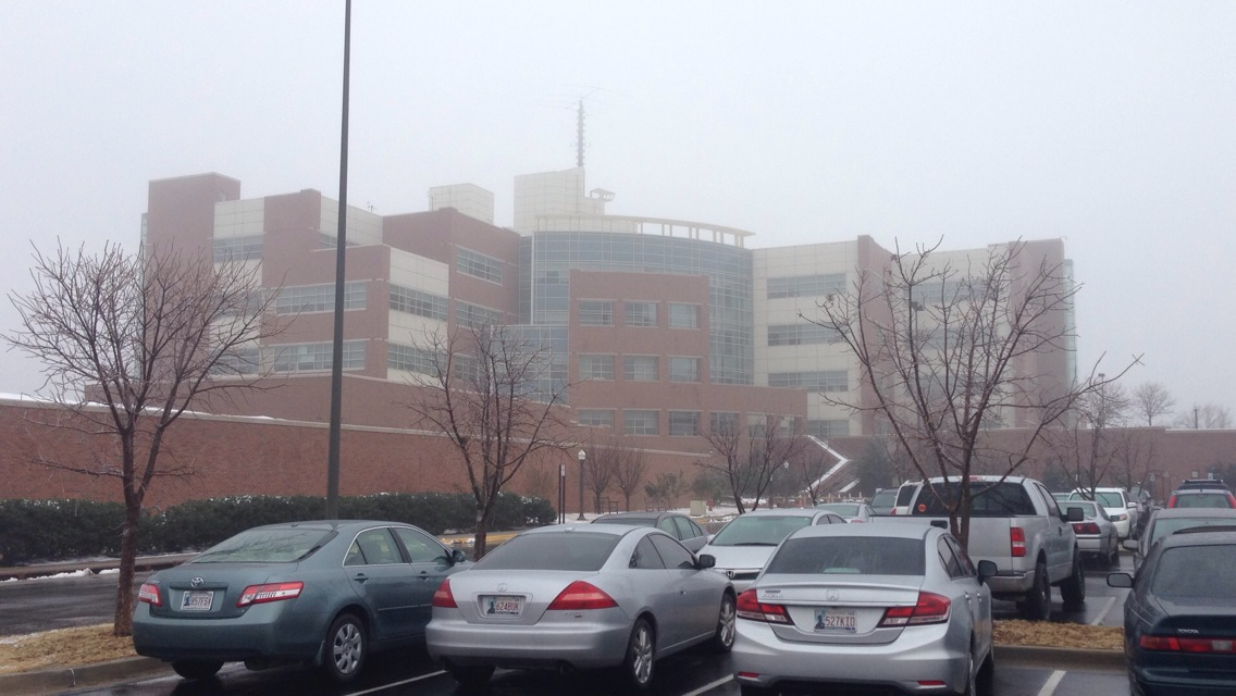 File:National Weather Center in foggy weather jpeg
