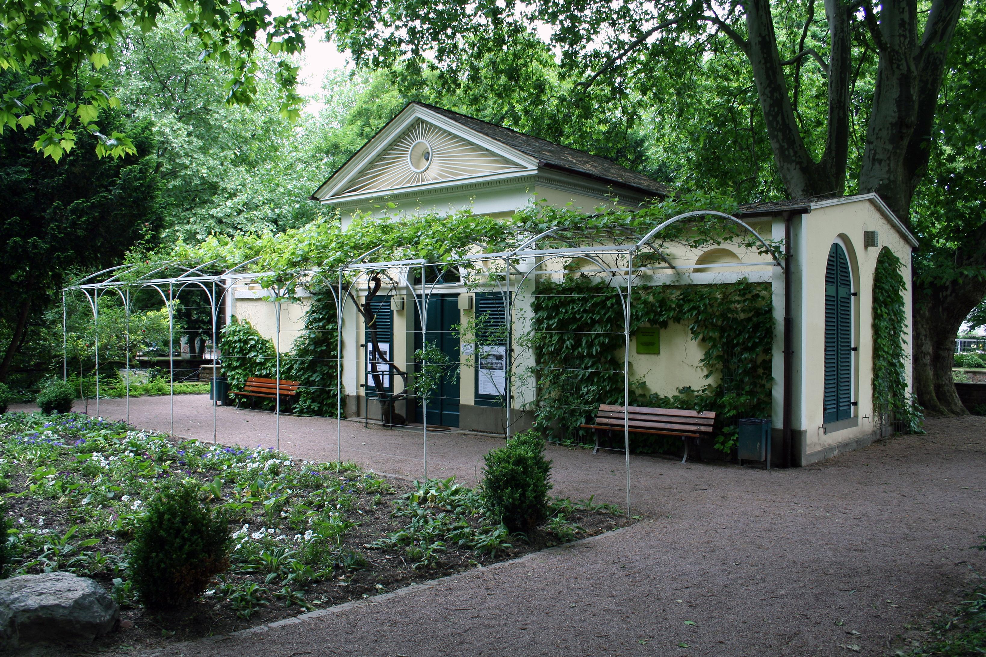 Nebbiensches gartenhaus wikiwand - Gartenhaus romantisch ...