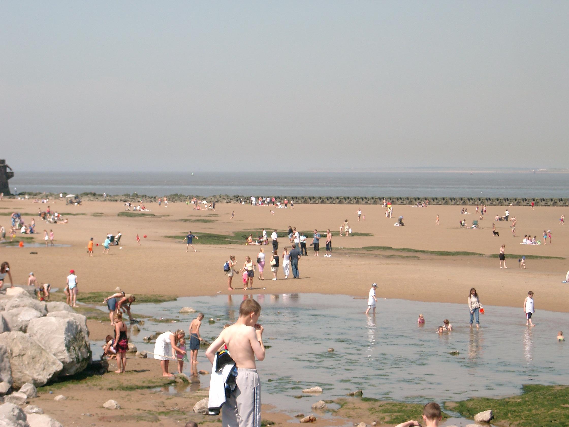 New Brighton Beach Wirral