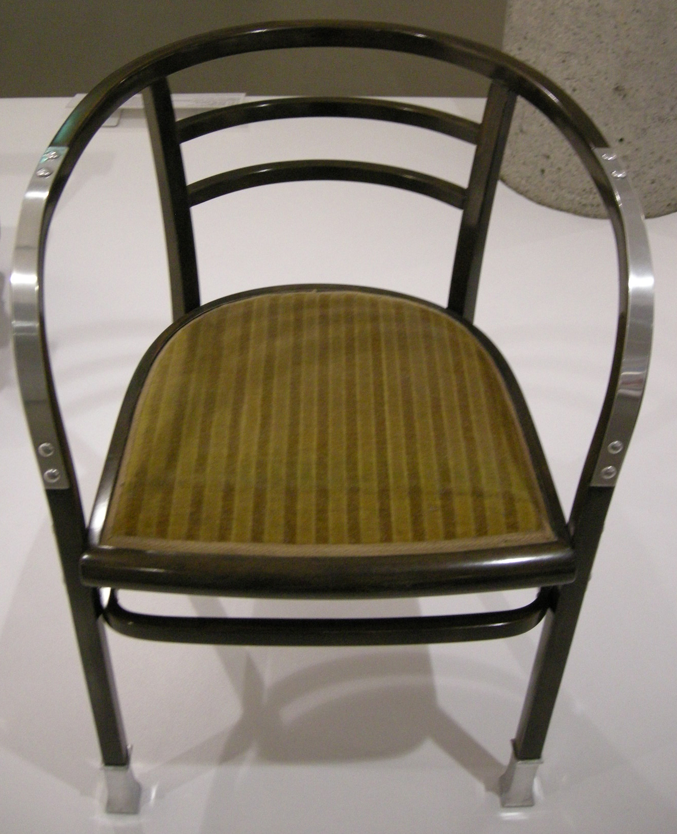 File Ngv Design Otto Wagner Armchair From The Post