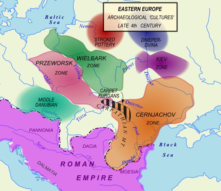 Черняховская археологическая культура и другие культуры эпохи переселения народов