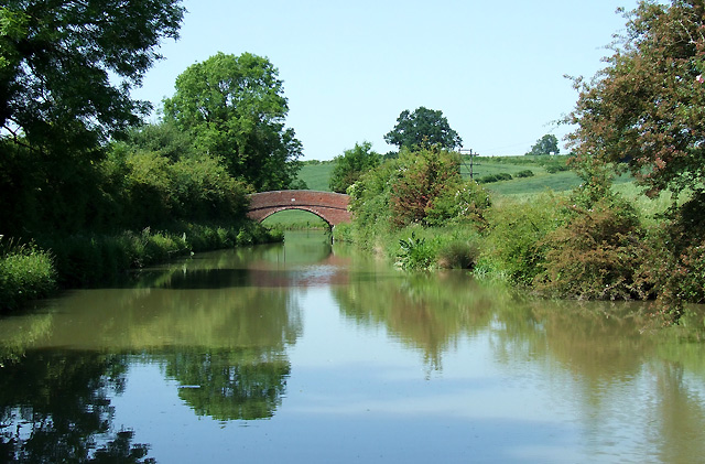Oxford Canal east of Rugby, Warwickshire - geograph.org.uk - 988082