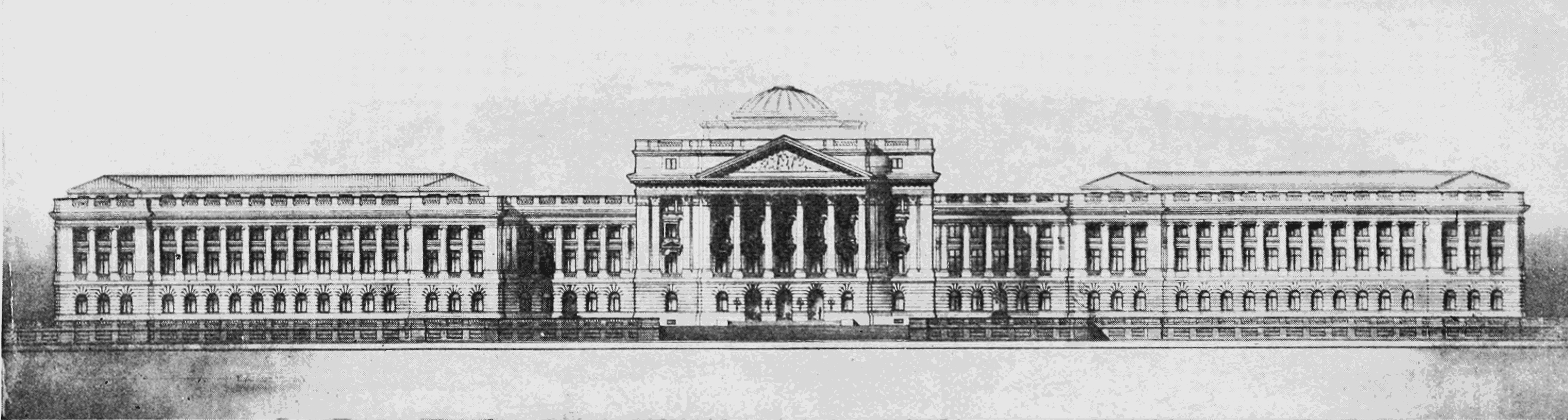 PSM V64 D482 New us dept of agriculture building.png