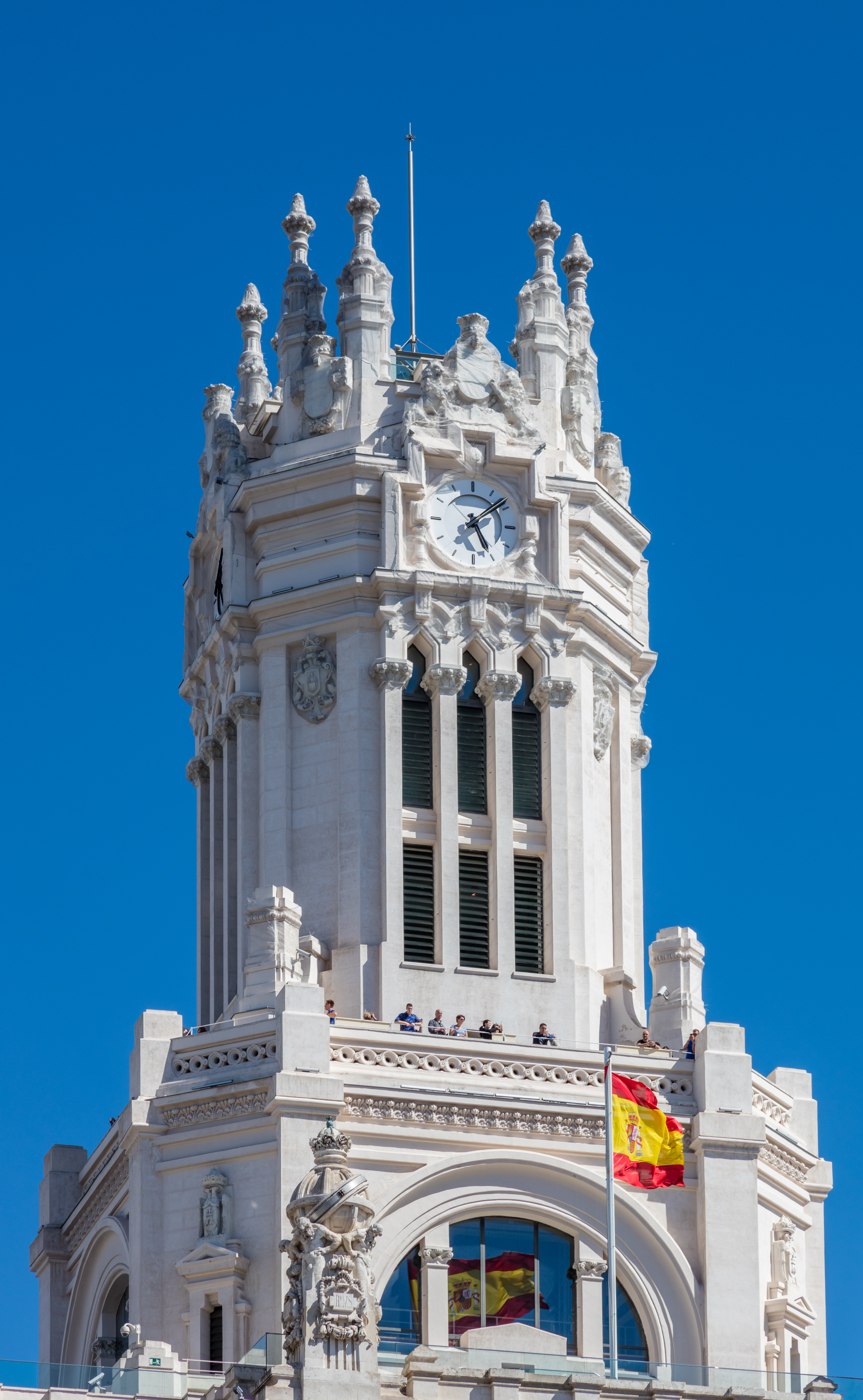 File Palacio De Comunicaciones Plaza De Cibeles Madrid