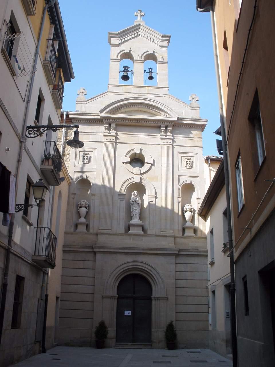 File:Pamplona - Convento de las Carmelitas Descalzas 1.jpg ...