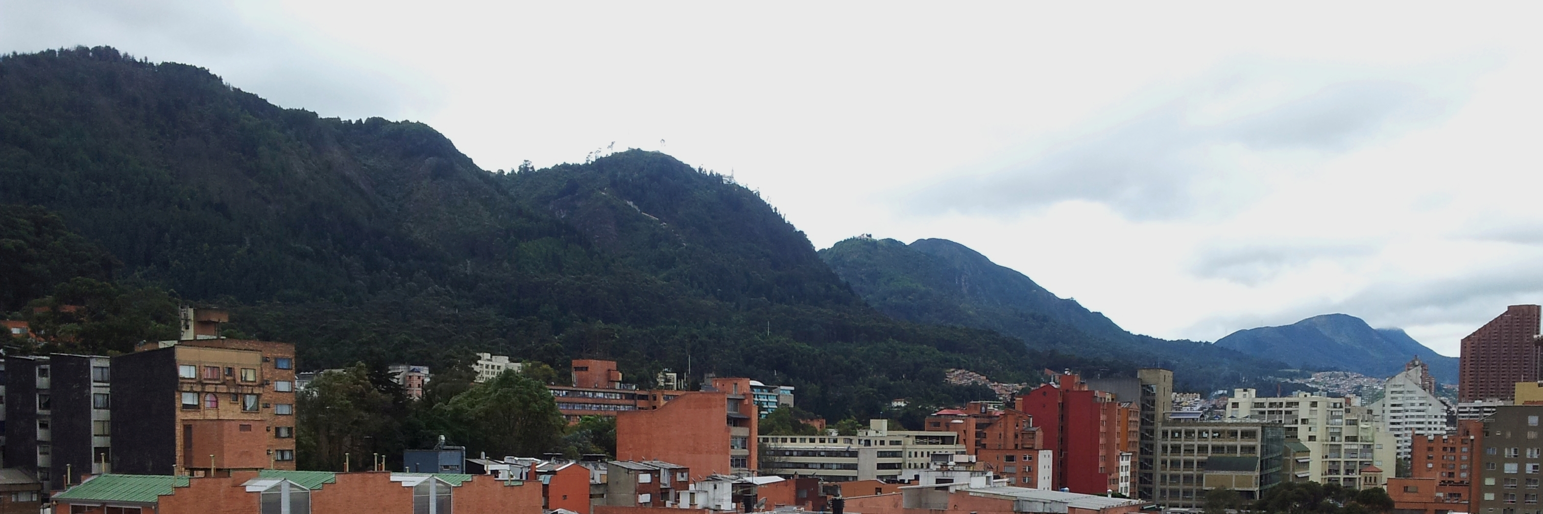 Panorama from Chapinero Best Bogota Hostels