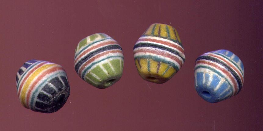 African Glass Krobo Beads 66010