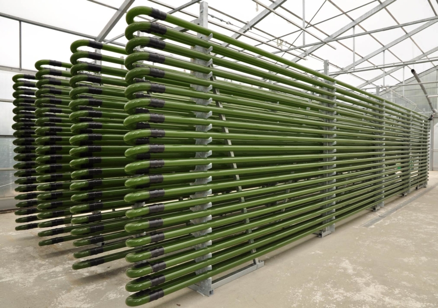 Photobioreactor for algae biofuel.