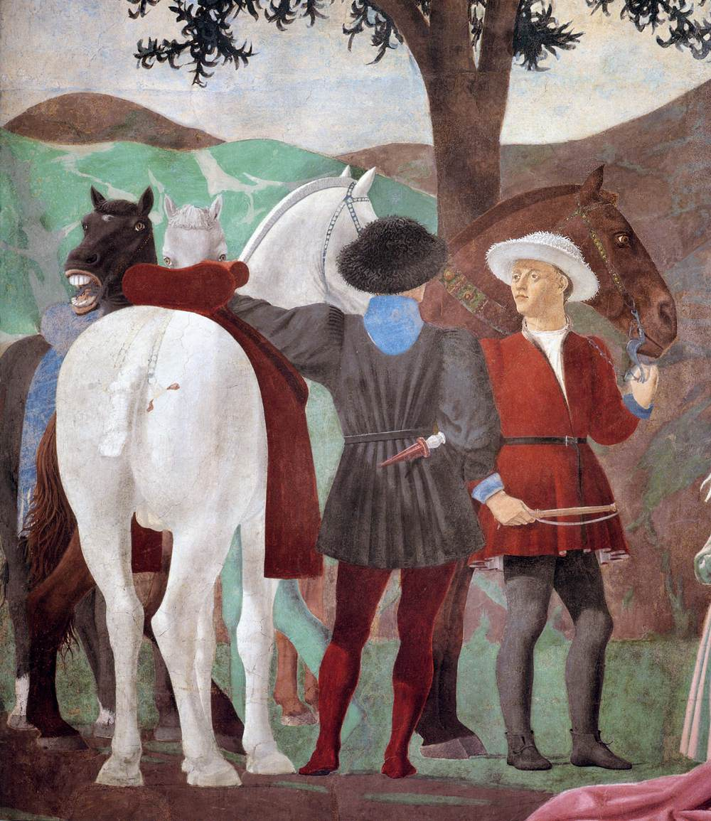 Piero della Francesca - 2a. Procession of the Queen of Sheba (detail) - WGA17493.jpg