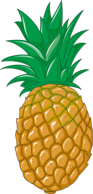 File:Pineapple clip art.png - Wikimedia Commons