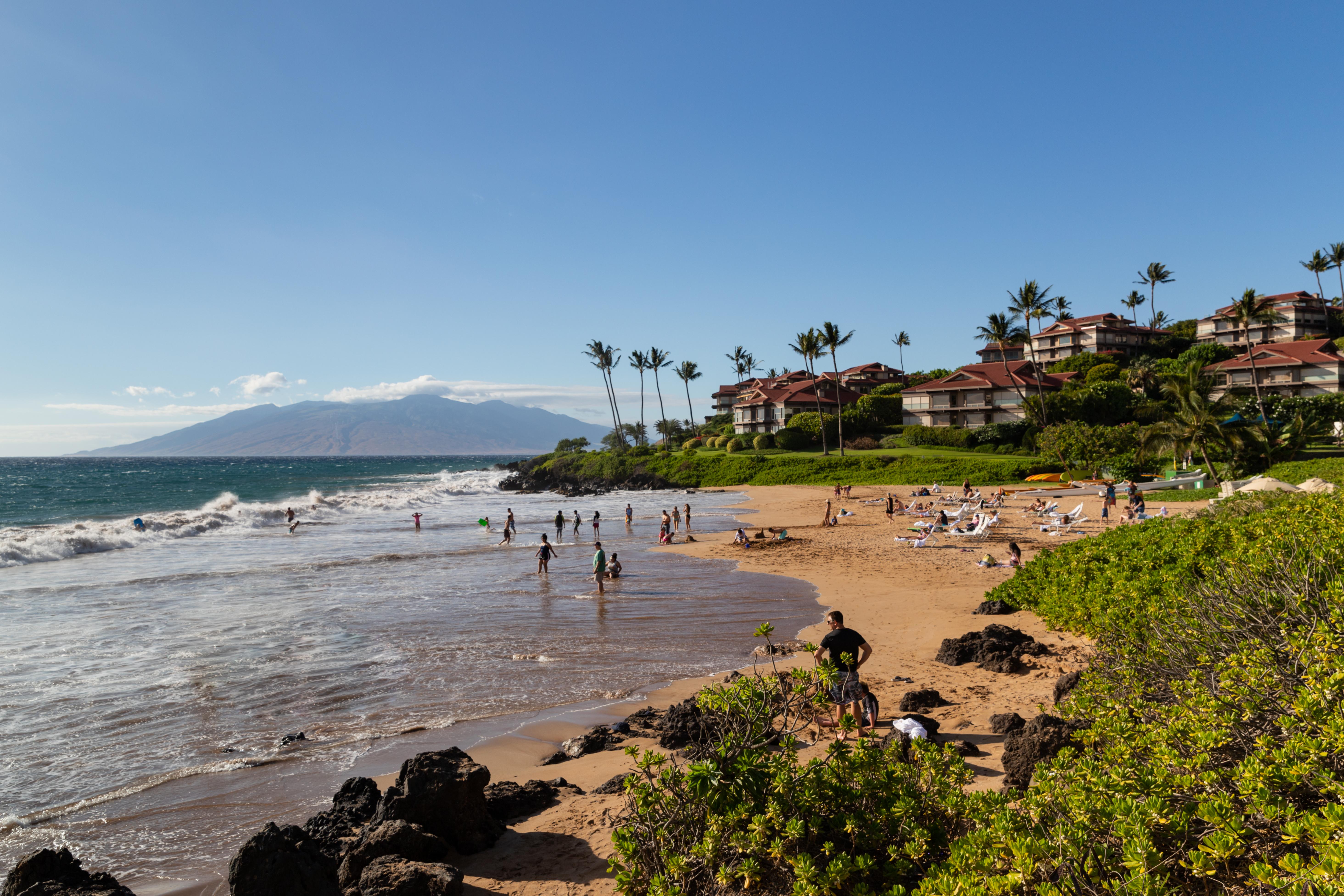 File Polo Beach Park Maui Hawaii