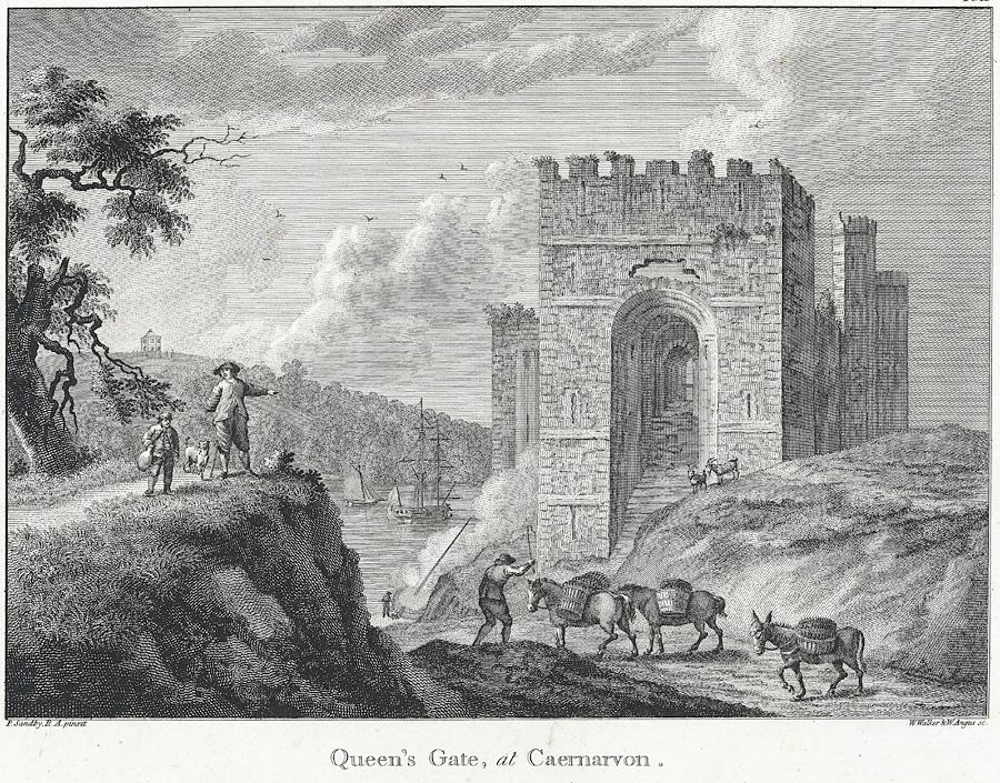 Queen's Gate, at Caernarvon