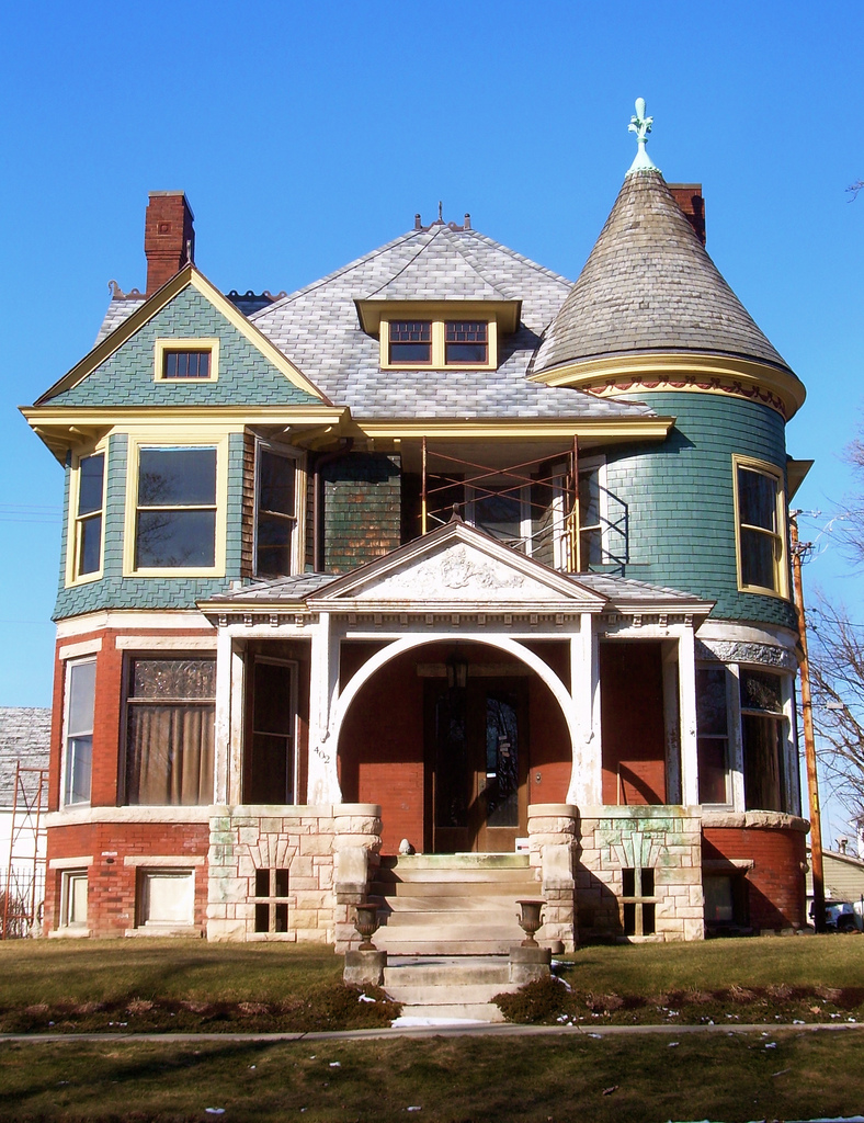 File queen anne style wikimedia commons Styles of houses