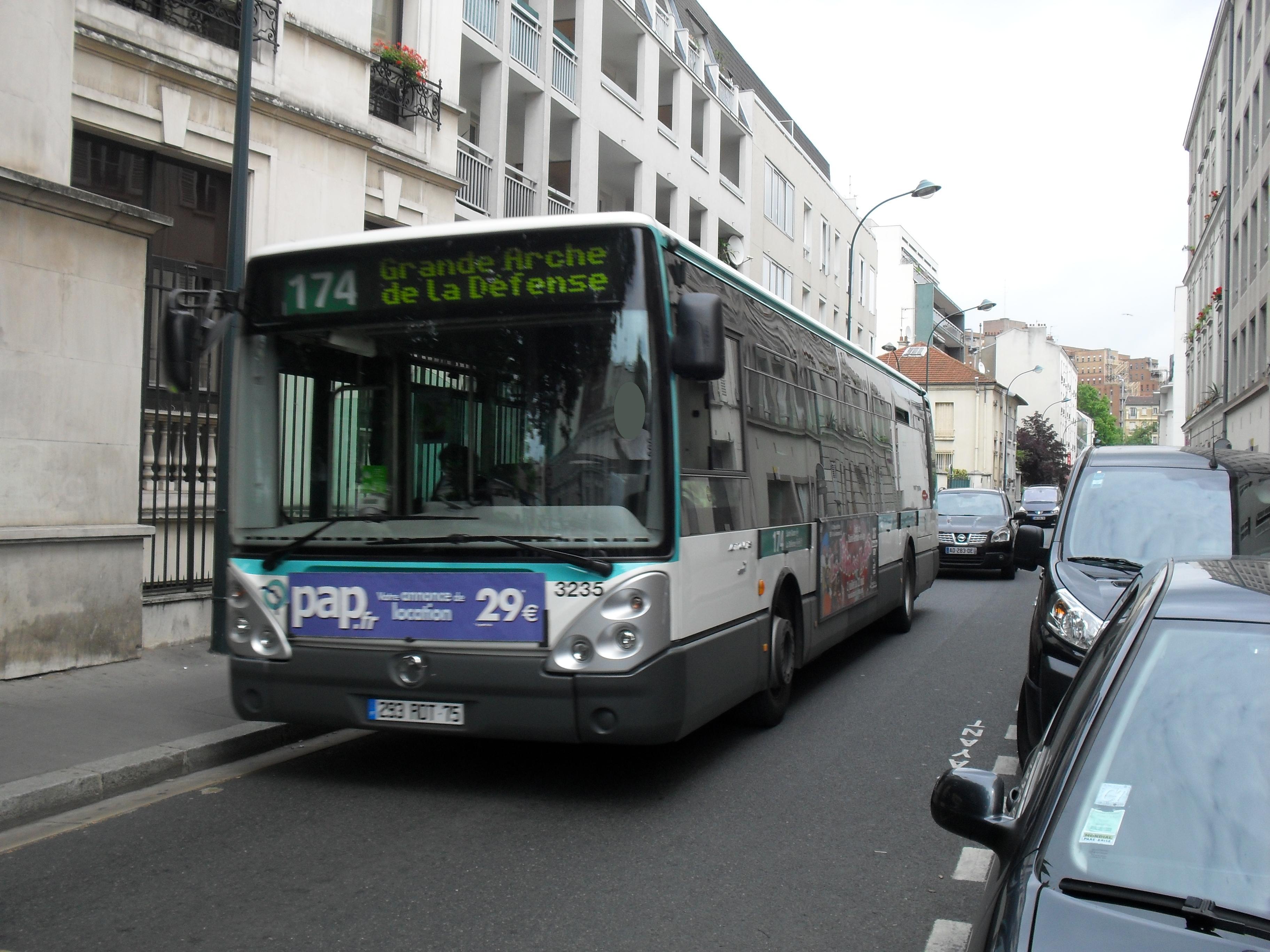 Bus à 3 chiffres