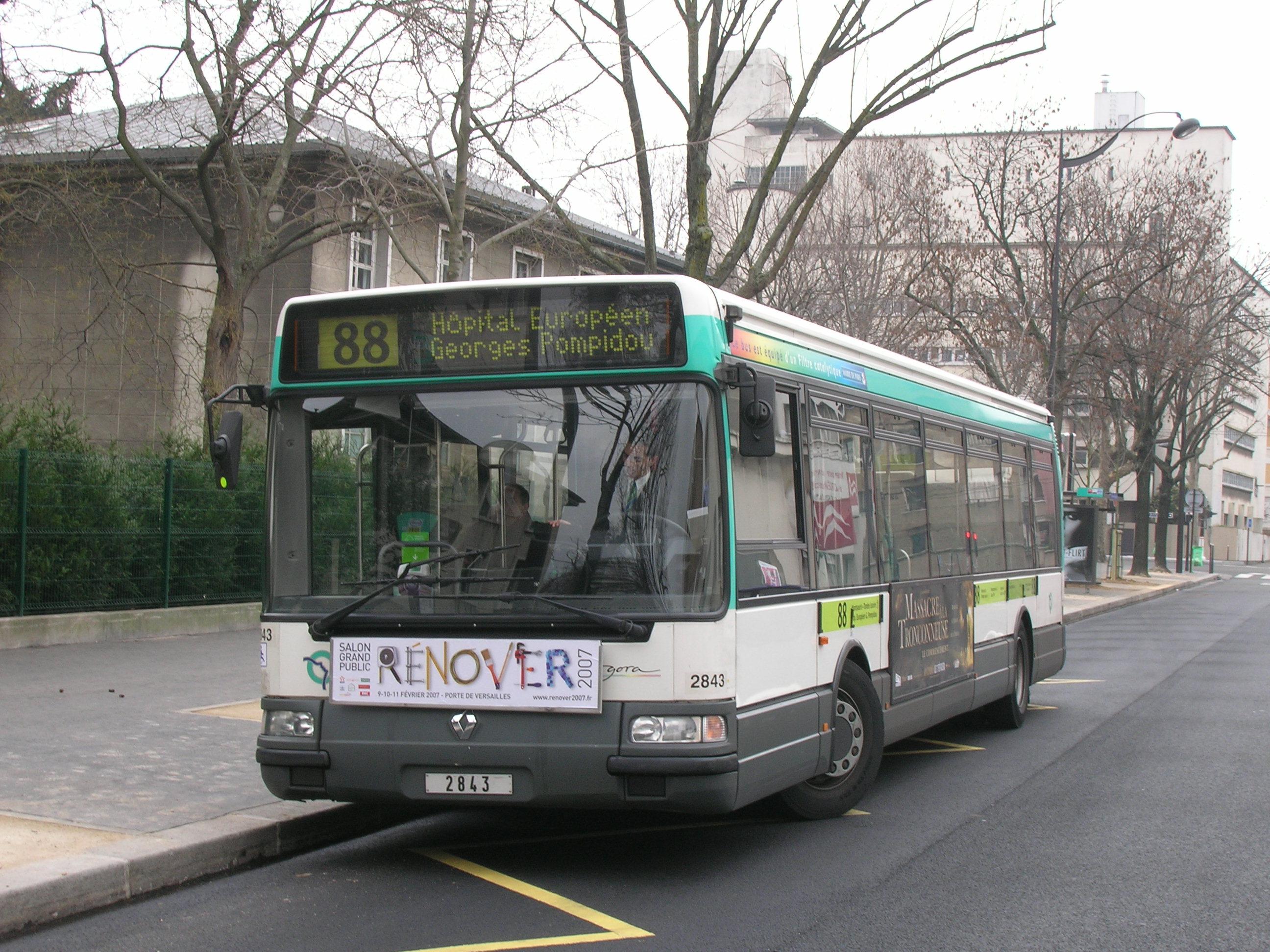 du nouveau pour les lignes de bus ratp 88 et 281 mat riel liber pour les lignes de bus ratp. Black Bedroom Furniture Sets. Home Design Ideas
