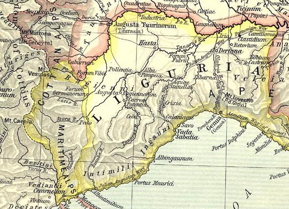 Cartina Politica Liguria Ponente.Liguri Wikipedia