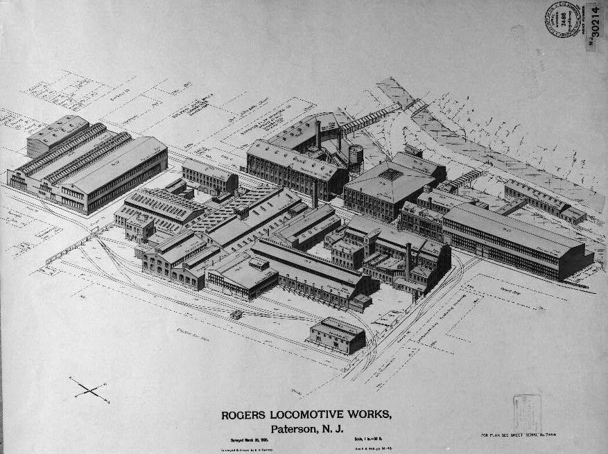 Lima Locomotive Works Drawings Rogers Locomotive And Machine