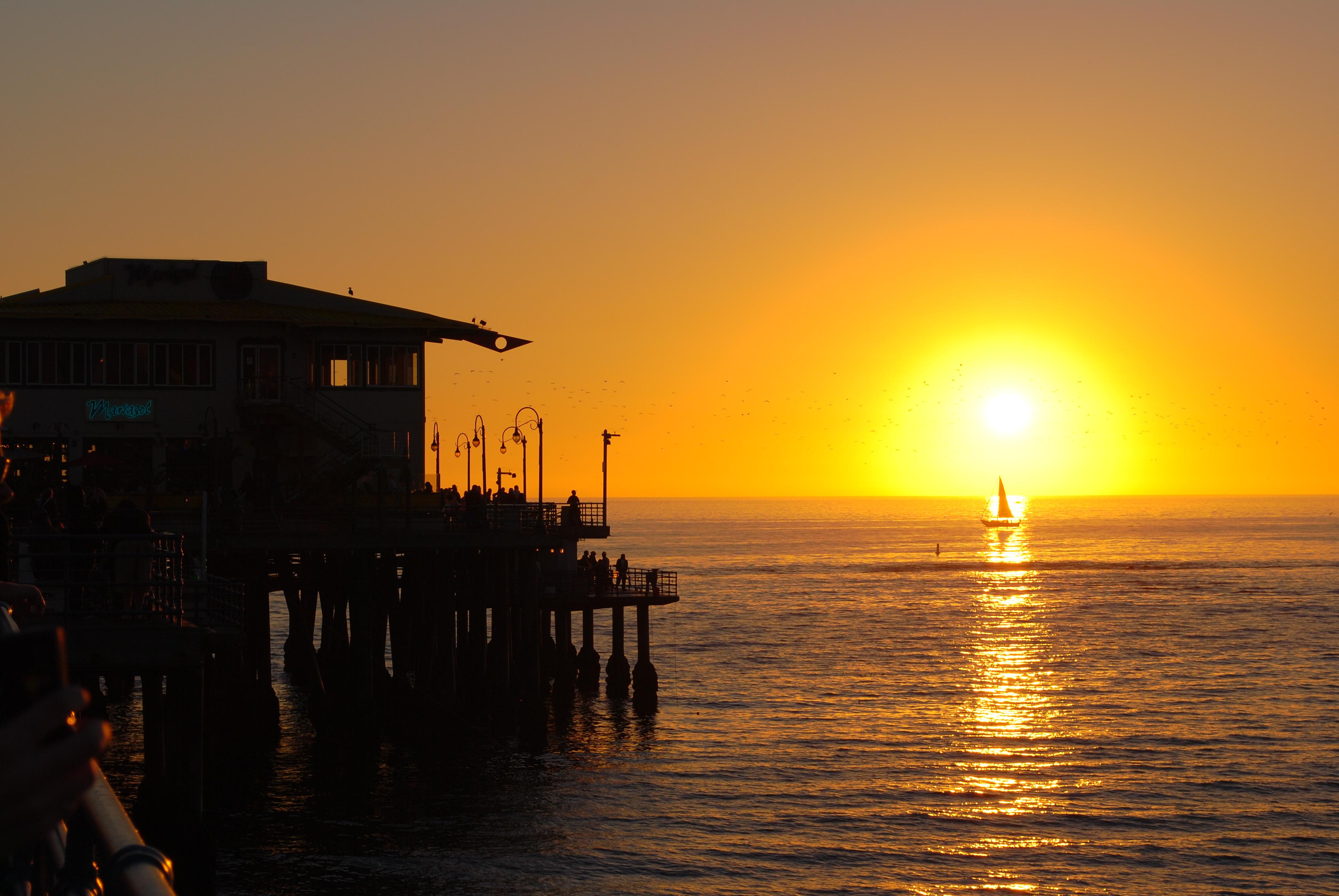 Image Result For Santa Monica Pier