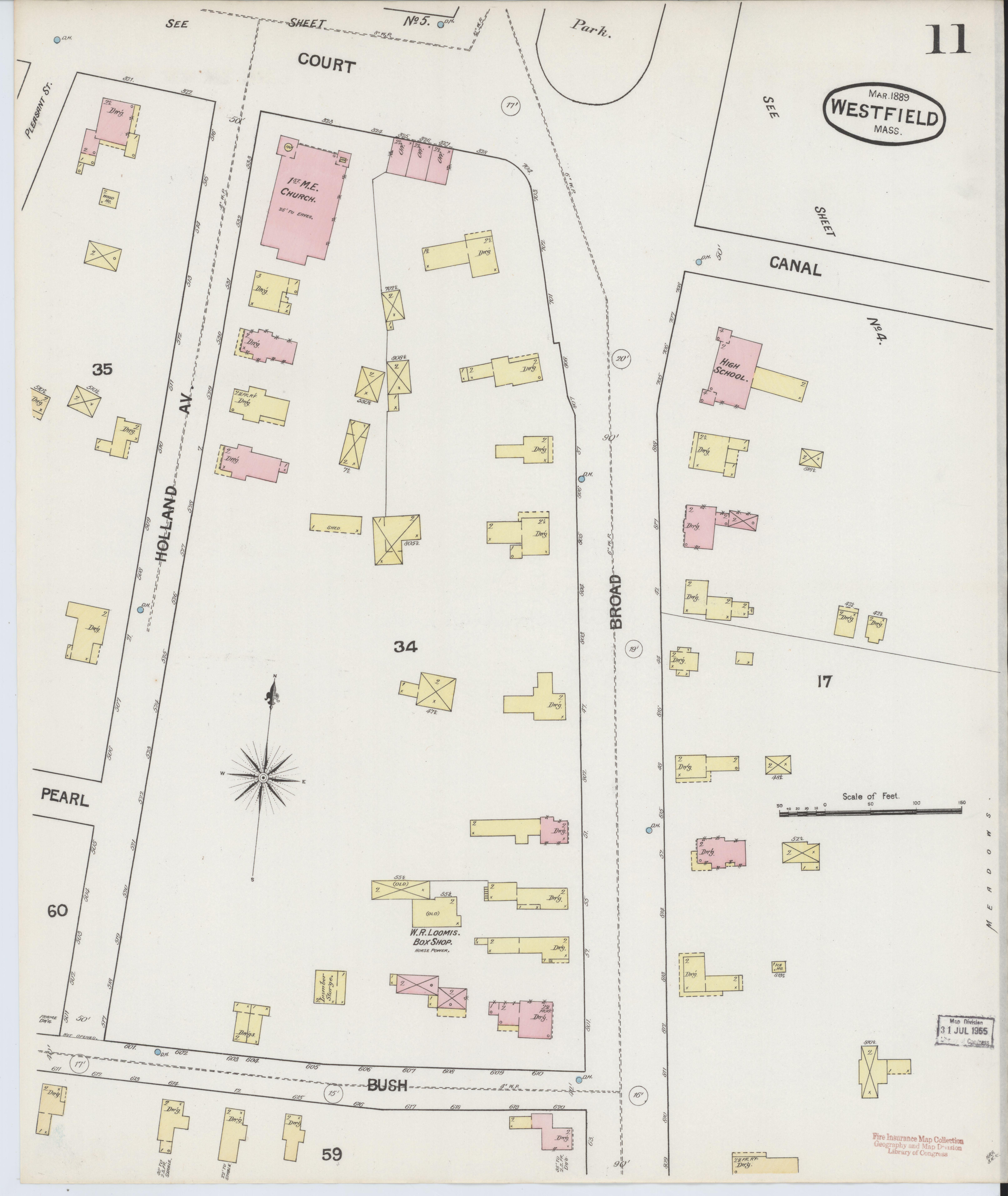 File:Sanborn Fire Insurance Map from Westfield, Hampden ...