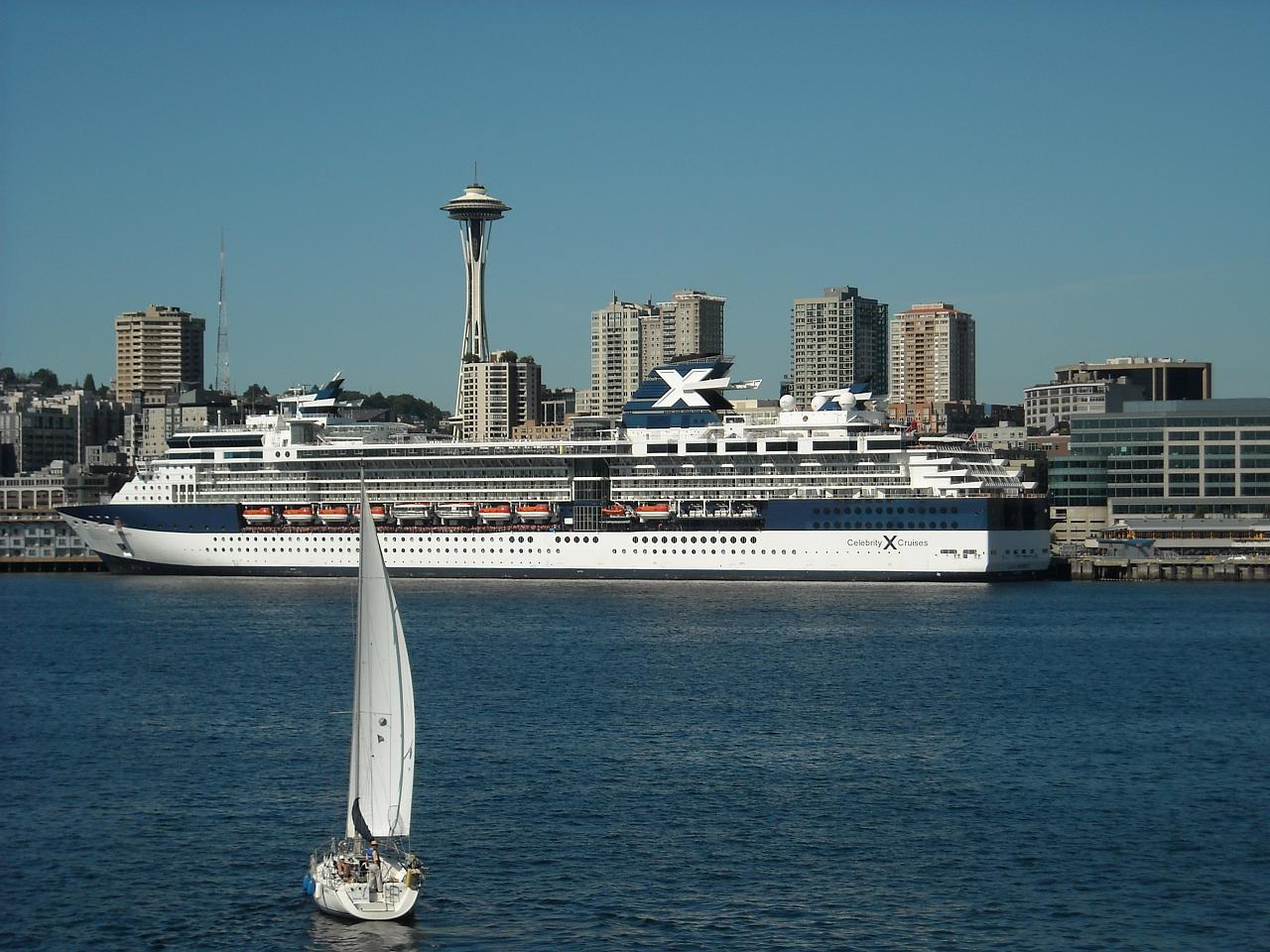 Travel   First cruise ship docks at Seattle's new $72 million ...