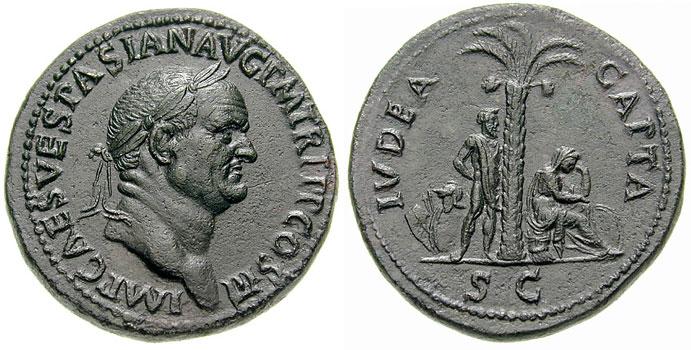Sestertius - Vespasiano - Iudaea Capta-RIC 0424.jpg