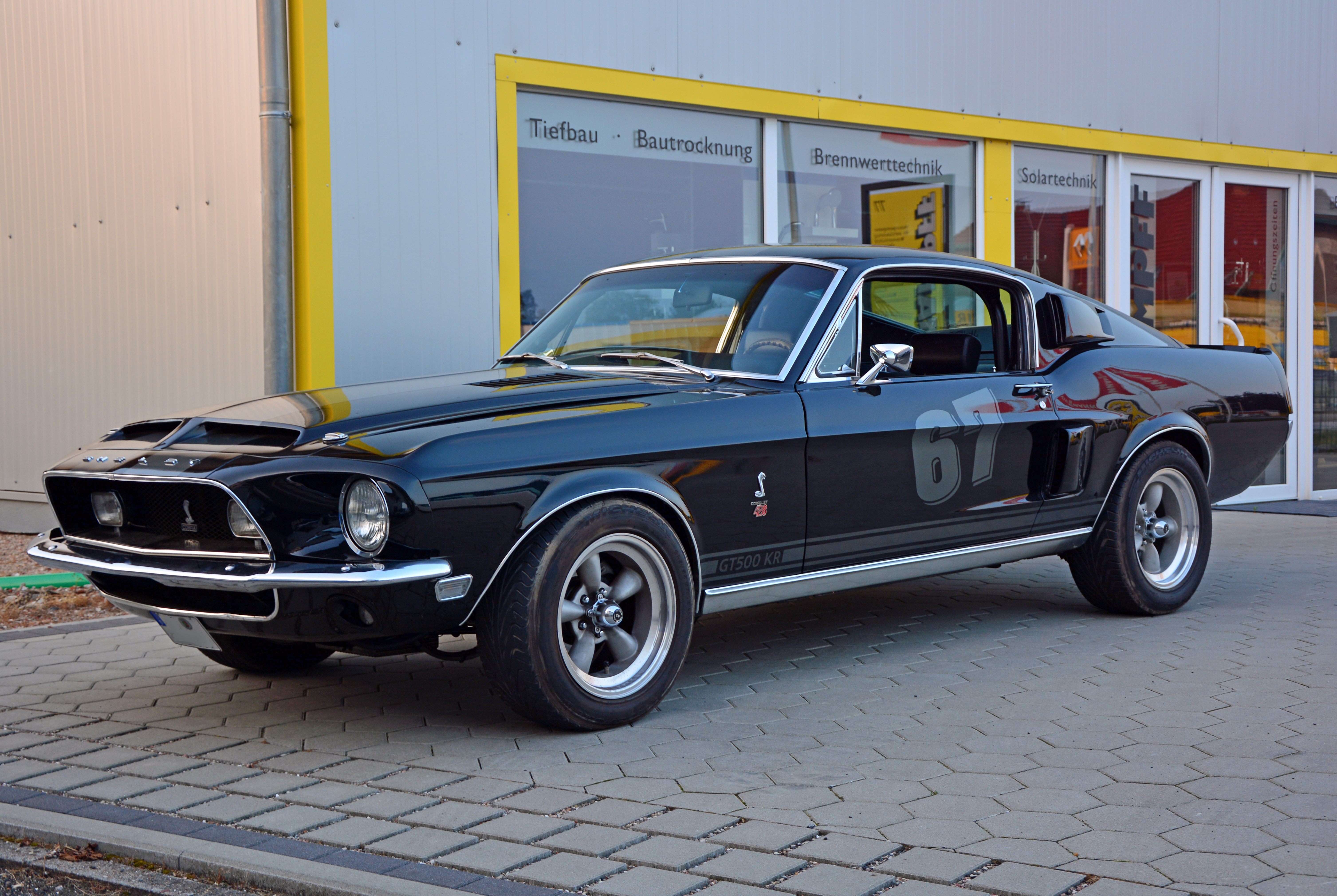 Ford Mustang Shelby GT 500 KR - More information