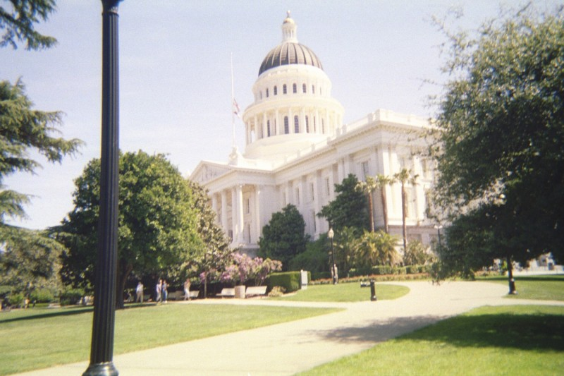 Side View Sacramento Capitol
