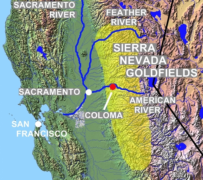 FileSierra Gold Rush mapjpg Wikimedia Commons